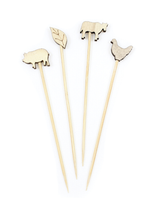 Farmhouse Food Markers, set of 48