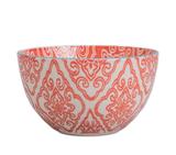 "Bandana Bowl, 5""--CHOOSE RED OR BLUE"