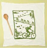 Bikes-Flour Sack Towel