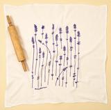 Lavender Sprigs--Flour Sack Towel