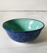 "Stamped Bowl, 6"" assorted designs"