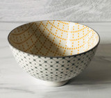 "Stamped Bowl, 4"" assorted designs"