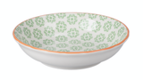 "Baline Floral Shallow Bowl, 5.5"""