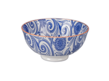 "Paisley Bowl, 4.75"", assorted colors"