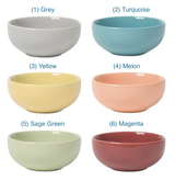 """Mini Stoneware Pinch Pot, 3"""" 6 colors"""
