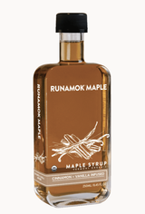 Cinnamon + Vanilla Infused, Organic Maple Syrup 250ml