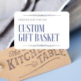 Custom Basket, $100