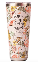 PURE Insulated Tumbler, 32oz, Assorted Designs