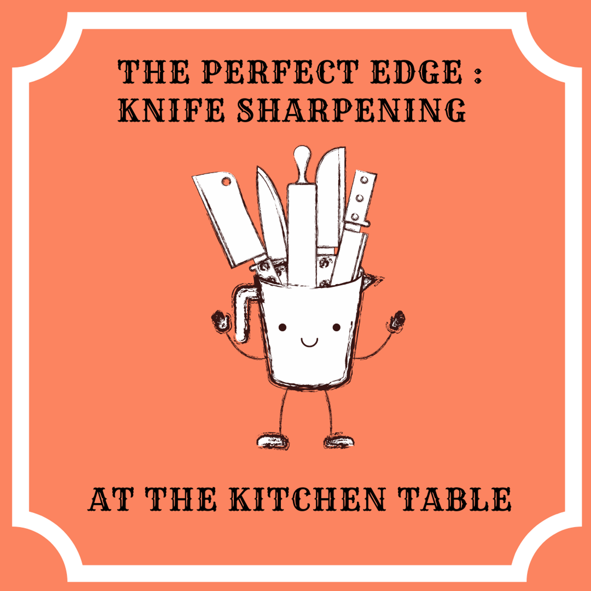 Knife Sharpening at the Kitchen Table: Good Day Sac Segment with Stan!