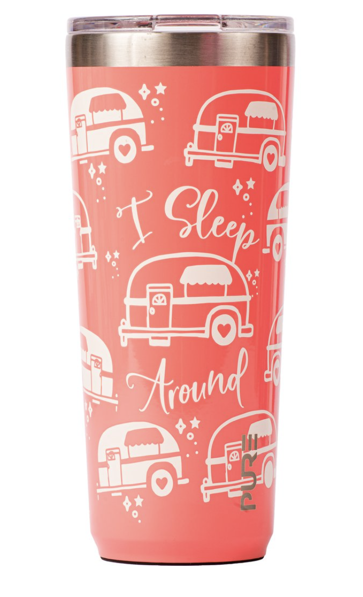 PURE Insulated Tumbler, 22oz, Assorted Designs