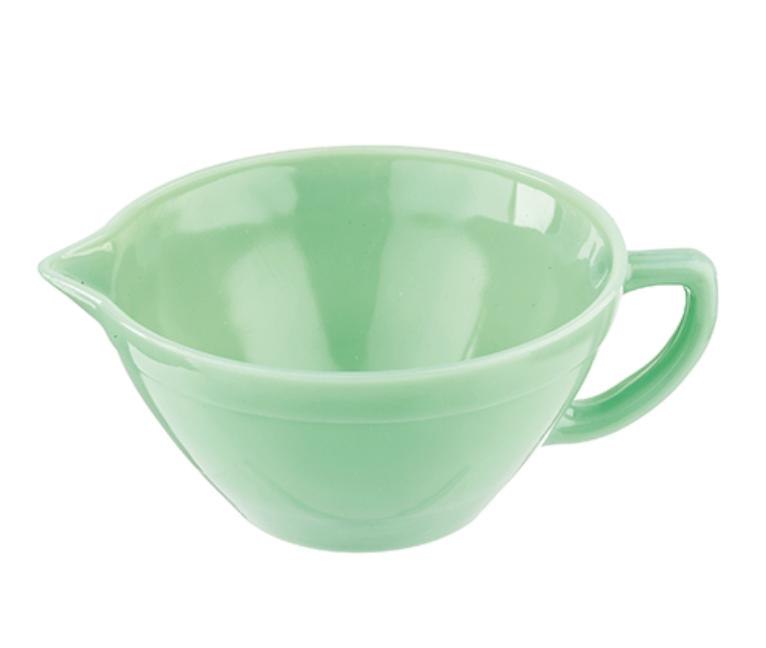 Jadeite Batter Bowl w/ Handle, 1.25qt capacity