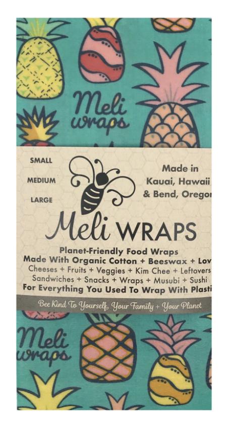 Meli Wraps 3-Pack, Assorted Designs