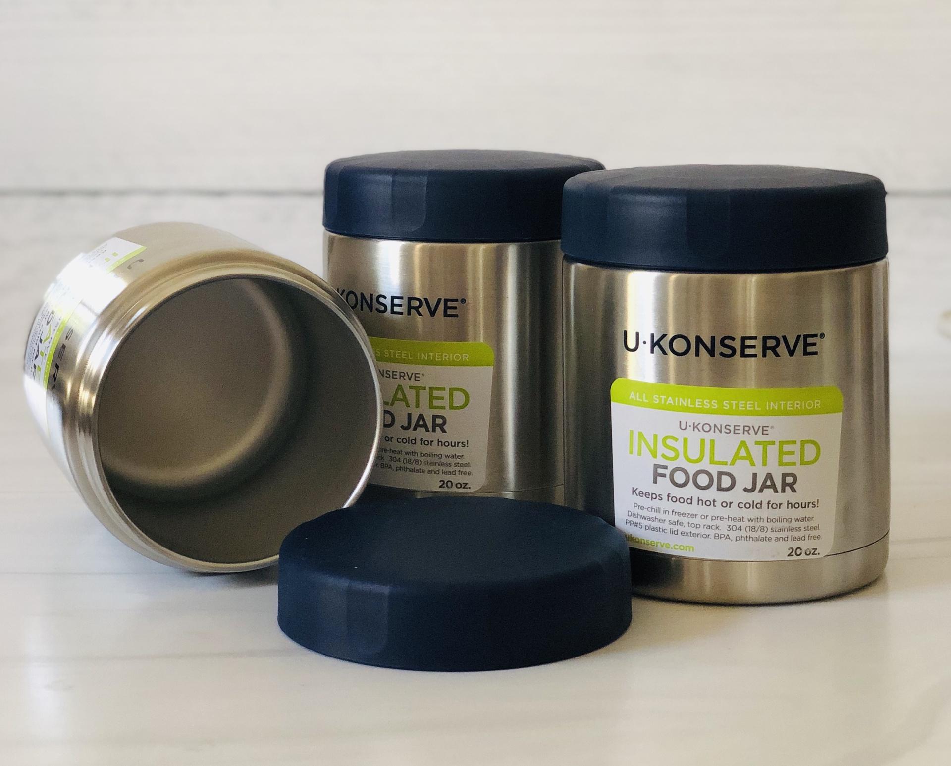 UKonserve Insulated Food Jar, 20oz