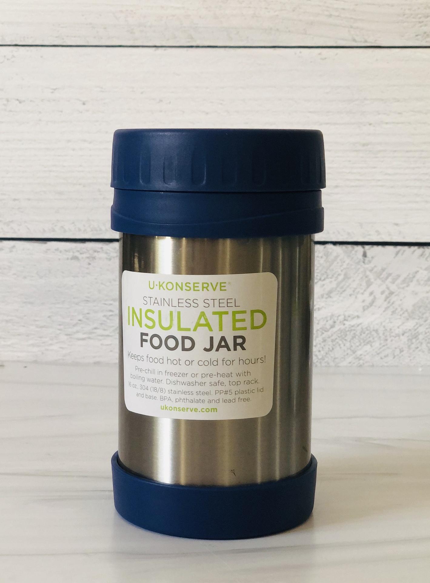 UKonserve Insulated Food Jar, 16oz
