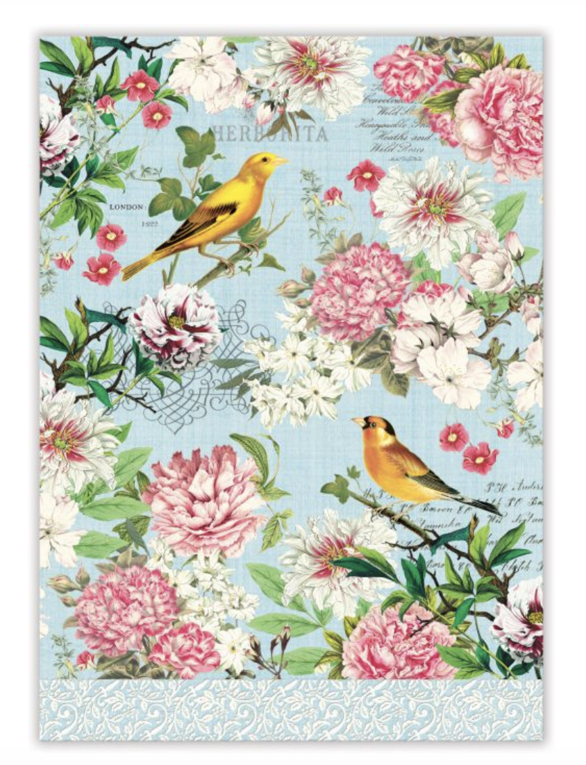 Michel Design Tea Towel: Garden Melody