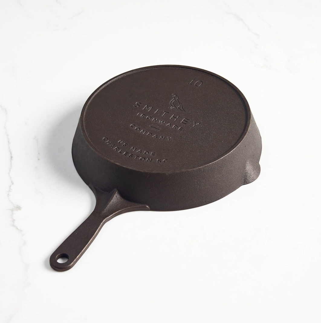 Smithey No.10 Cast Iron Skillet--CHOOSE DESIGN