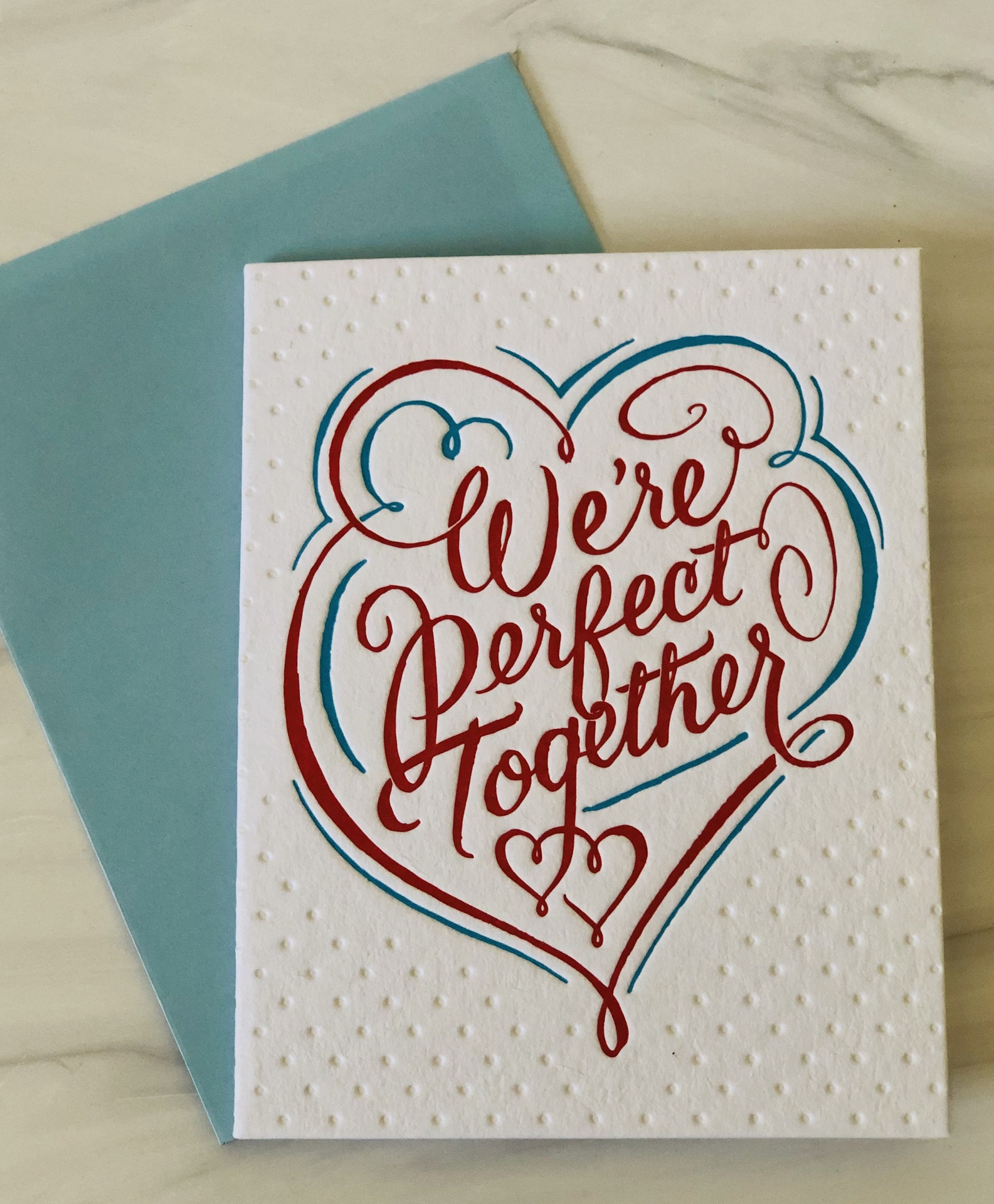 Perfect Together, Blank Greeting Card