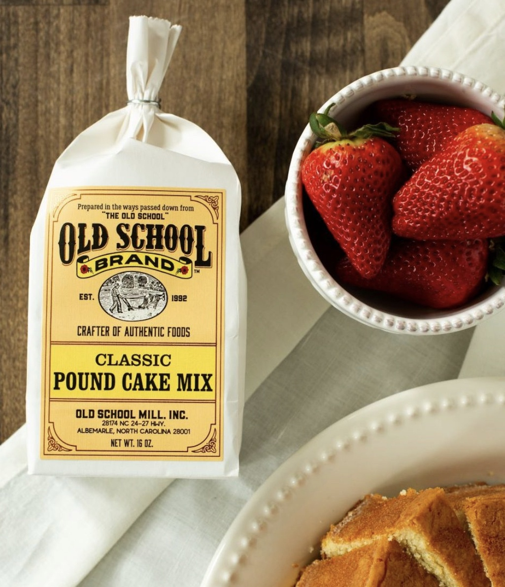 Old School Mill Pound Cake Mix--CHOOSE FLAVOR
