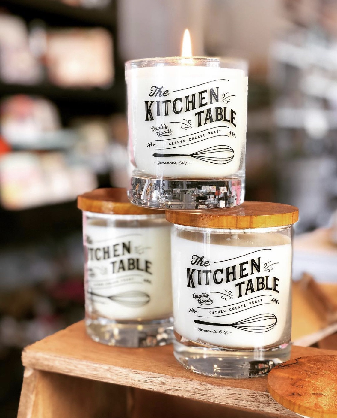 The Kitchen Table Candle
