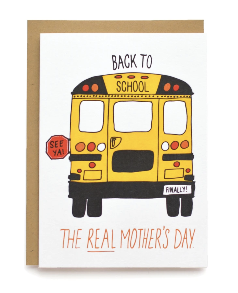 Real Mother's Day, Blank Greeting Card