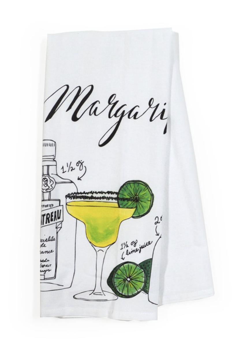 Margarita Classic Cocktail Tea Towel