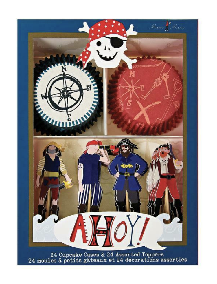 Ahoy! Cupcake Kit
