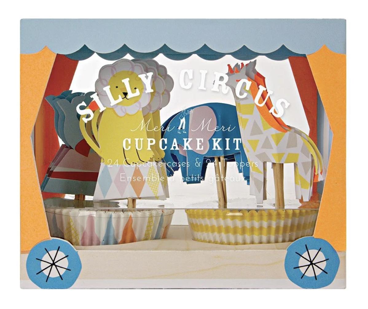 Silly Circus Cupcake Kit