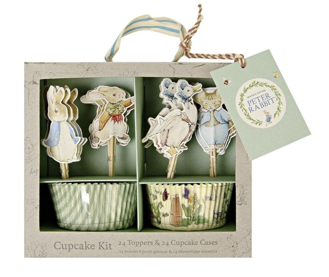 Peter Rabbit Cupcake Kit