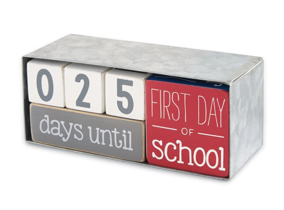 Teacher Break Countdown Block