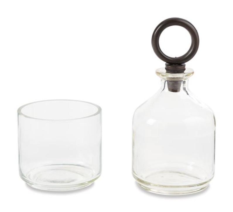 Two Piece Decanter Set