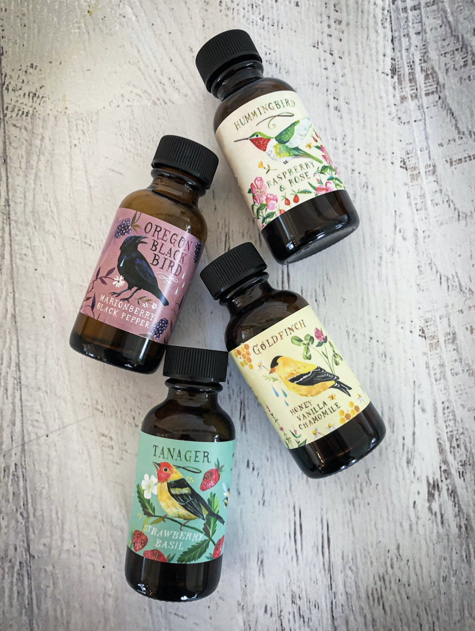 Sweet Bird Collection: Meadowland Simple Syrup Sampler