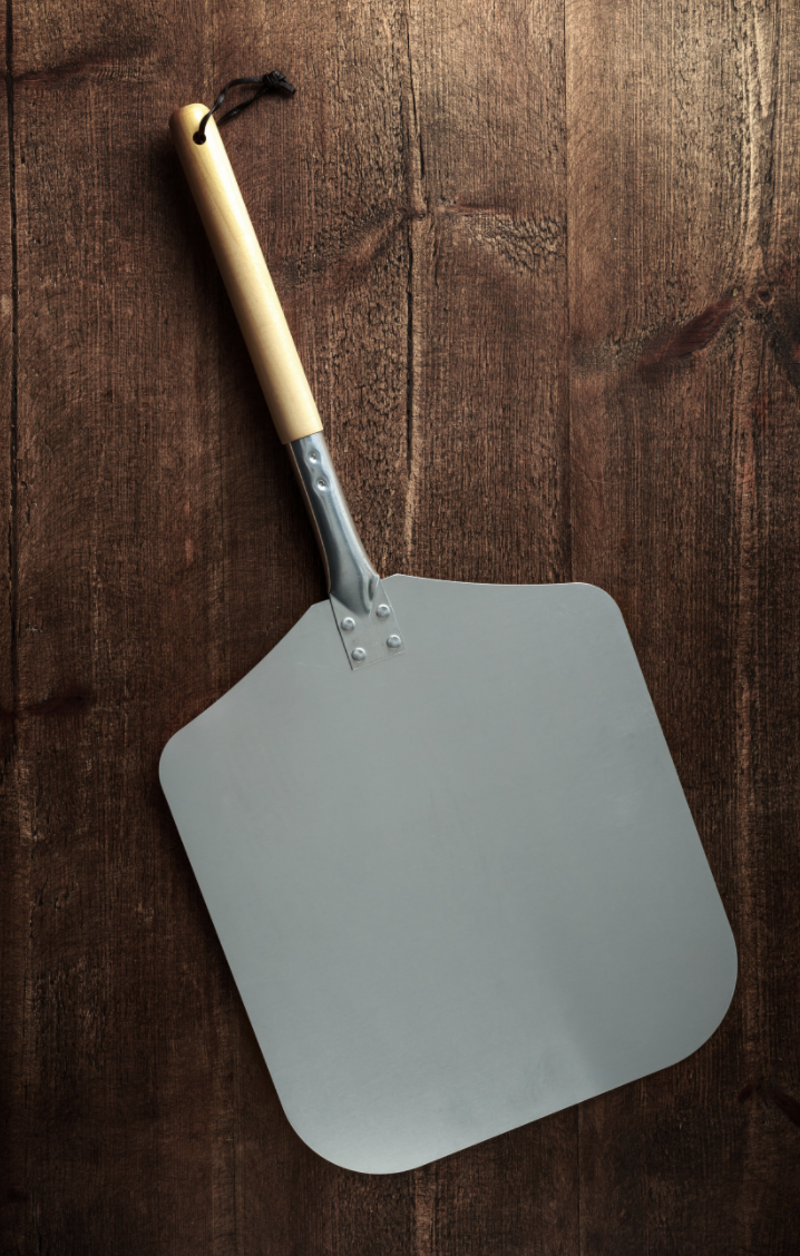 Pizza Shovel with Removable Handle