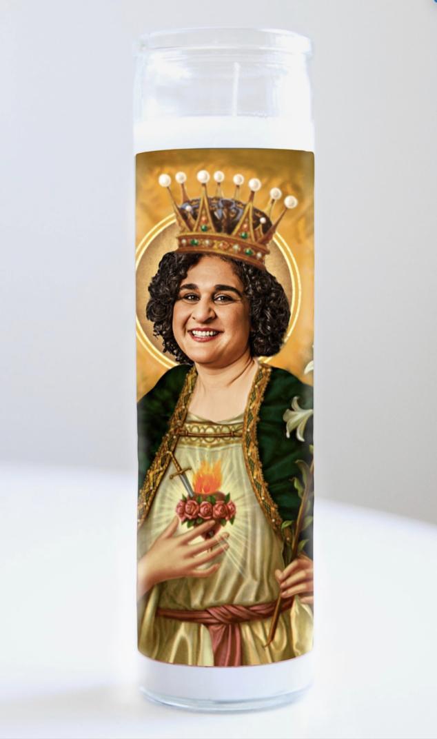 Samin Nosrat Prayer Candle: Kitchen Saints Collection