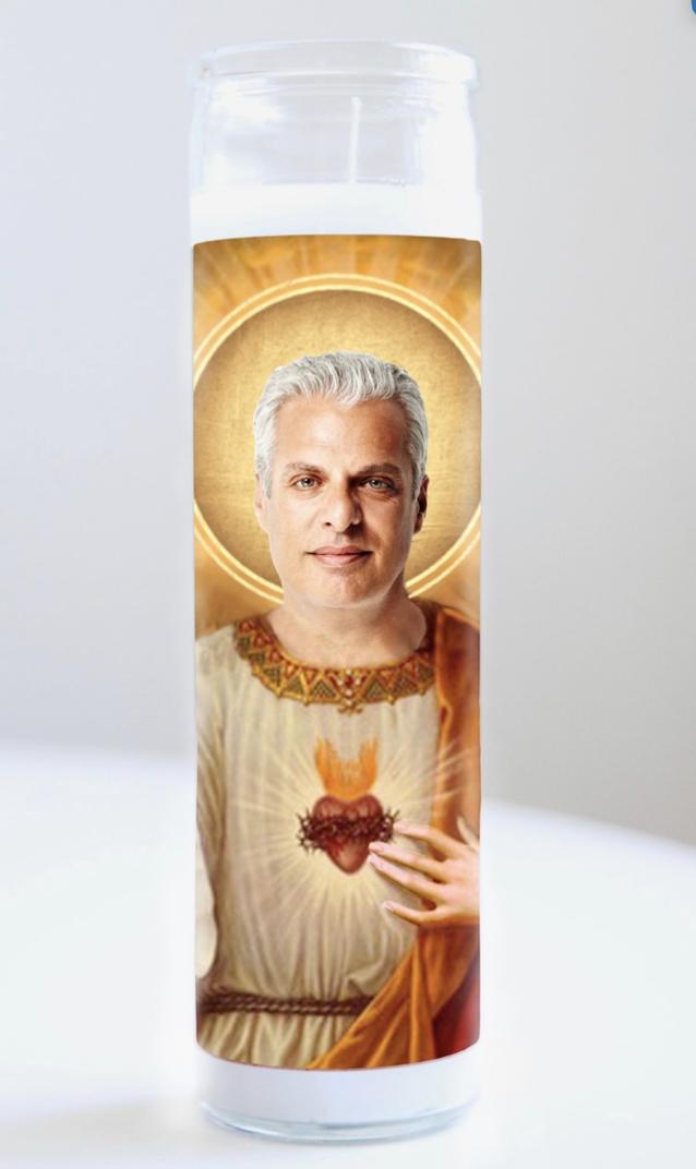 Eric Ripert Prayer Candle: Kitchen Saints Collection