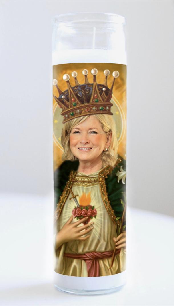 Martha Stewart Prayer Candle: Kitchen Saints Collection