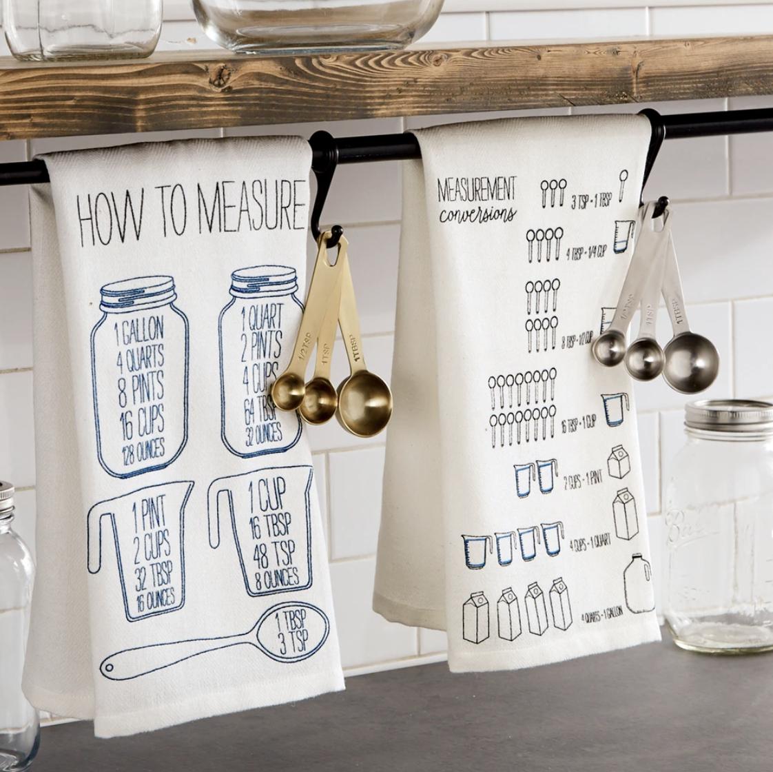 """How to Measure"" Towel & Spoon Set"