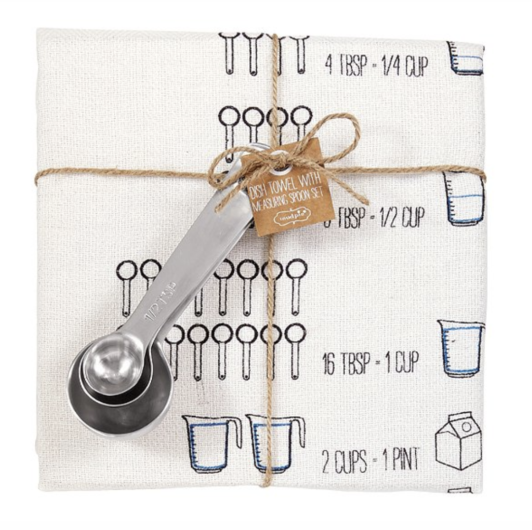 """Measurement Conversions"" Towel & Spoon Set"