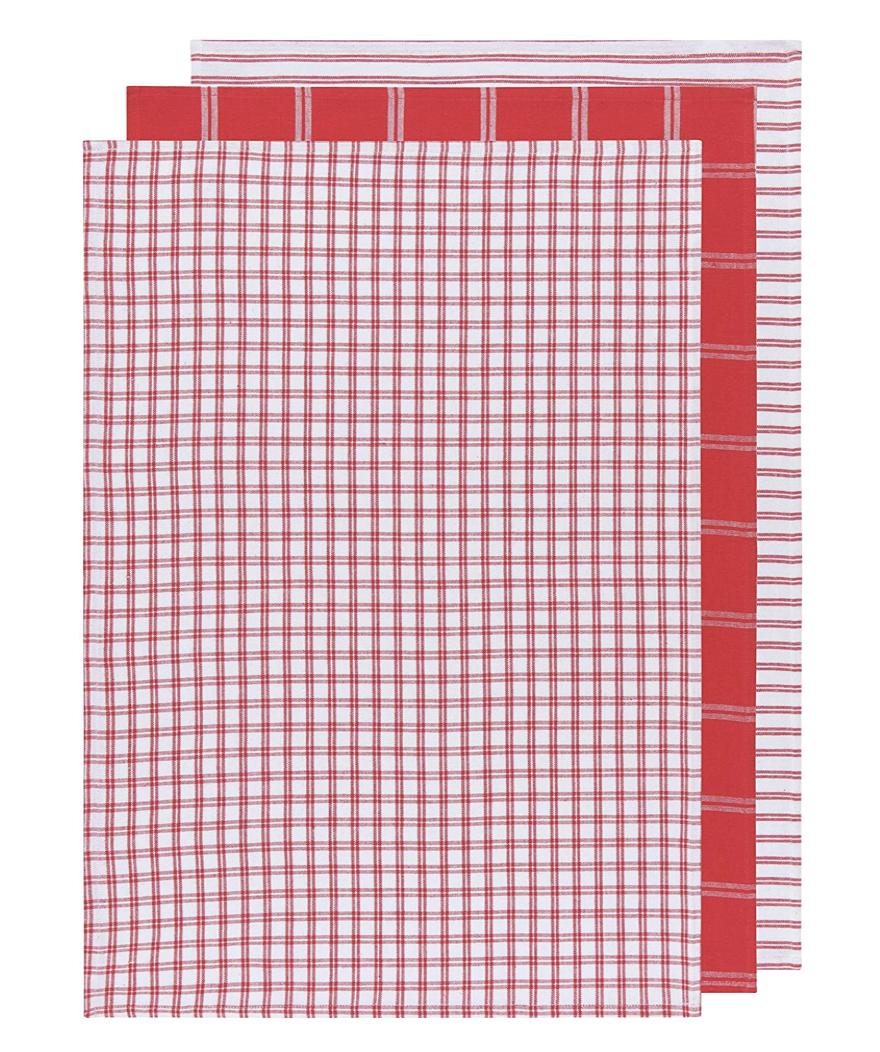 Tic Tac Toe Tea Towel, set/3--CHOOSE COLOR