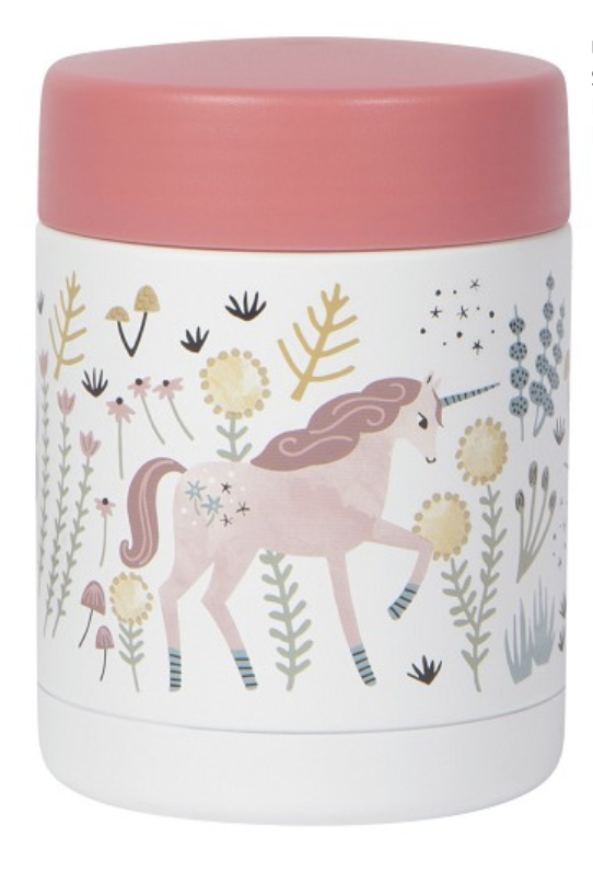 Insulated Food Jar, Unicorn 12oz