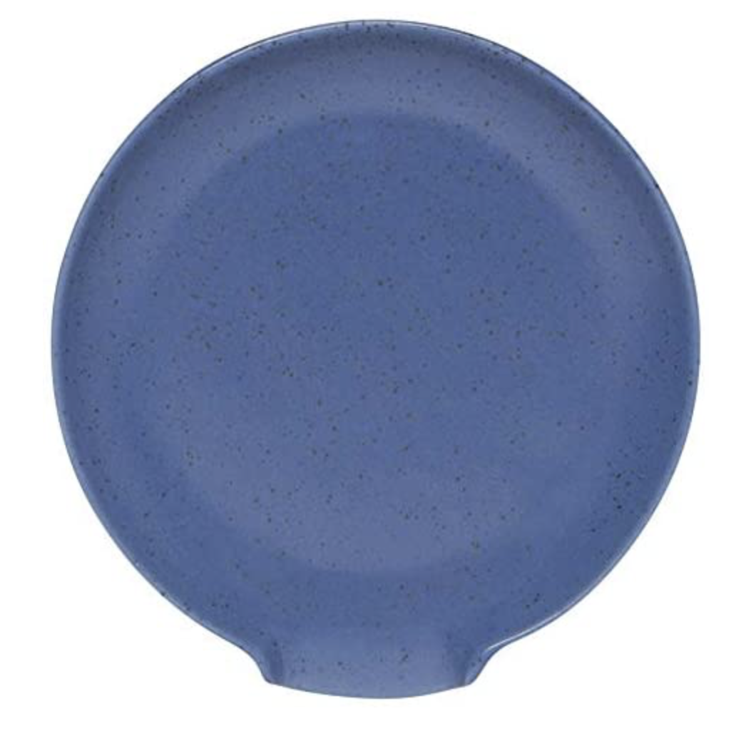 Blue Reactive Glaze Spoon Rest