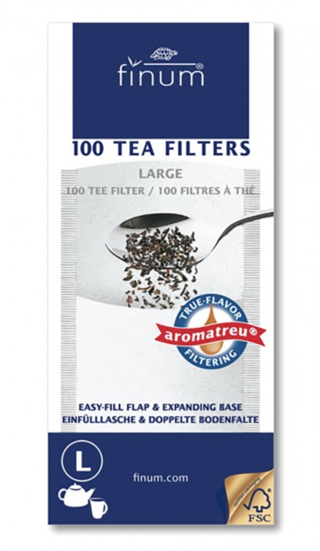 Tea Filter, Large 100 ct