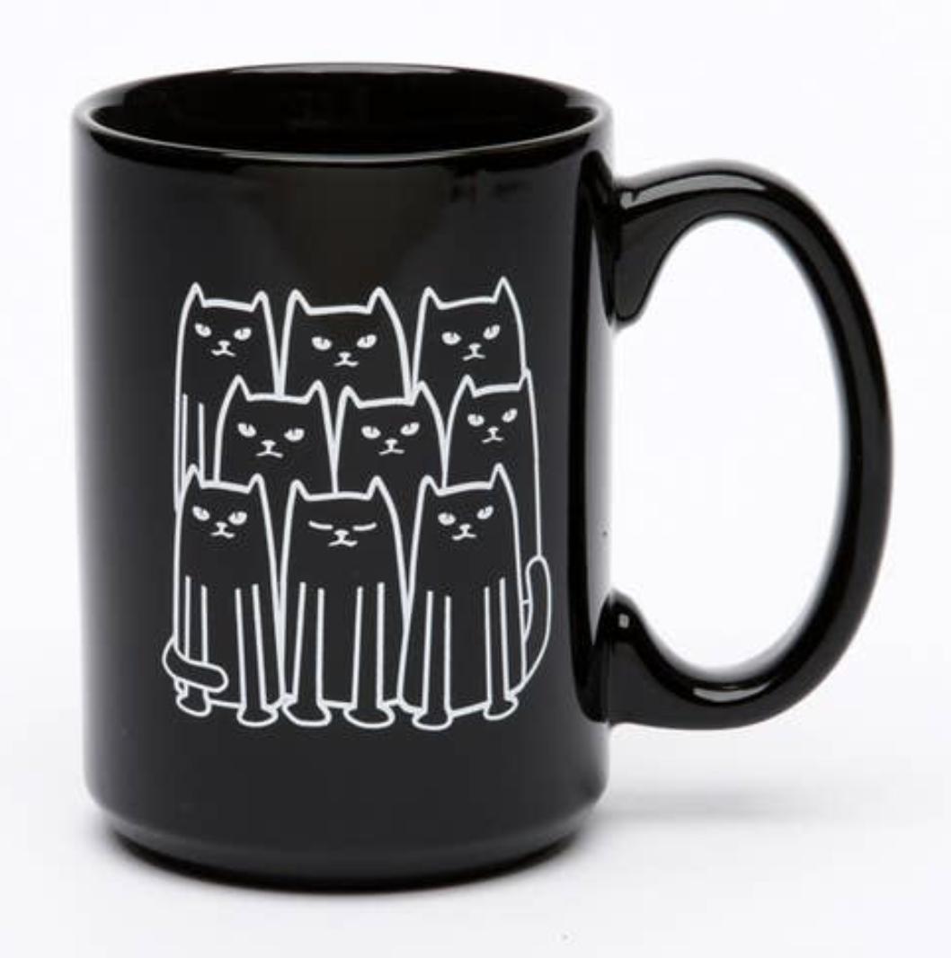 Cats El Grande Ceramic Mug, 15oz