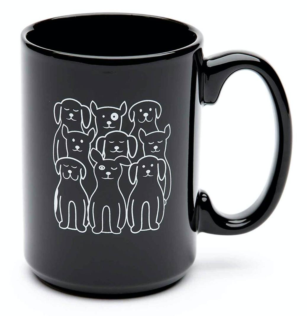 Dogs El Grande Ceramic Mug, 15oz