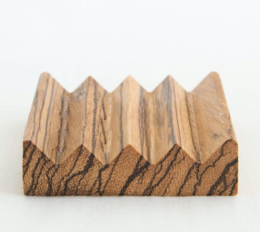 Zebra Wood Soap Block