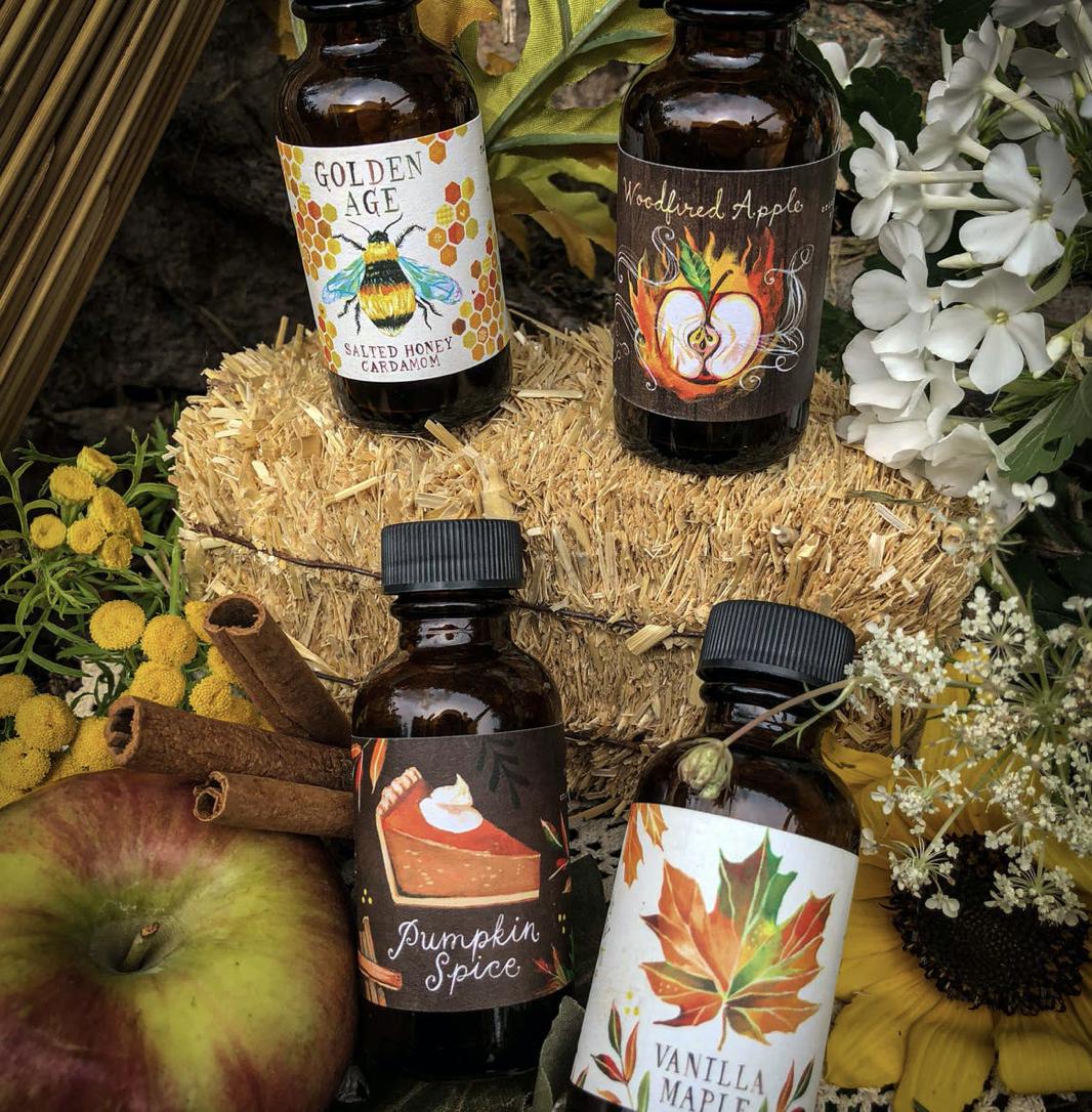 Autumn Sun Collection: Meadowland Syrup Sampler