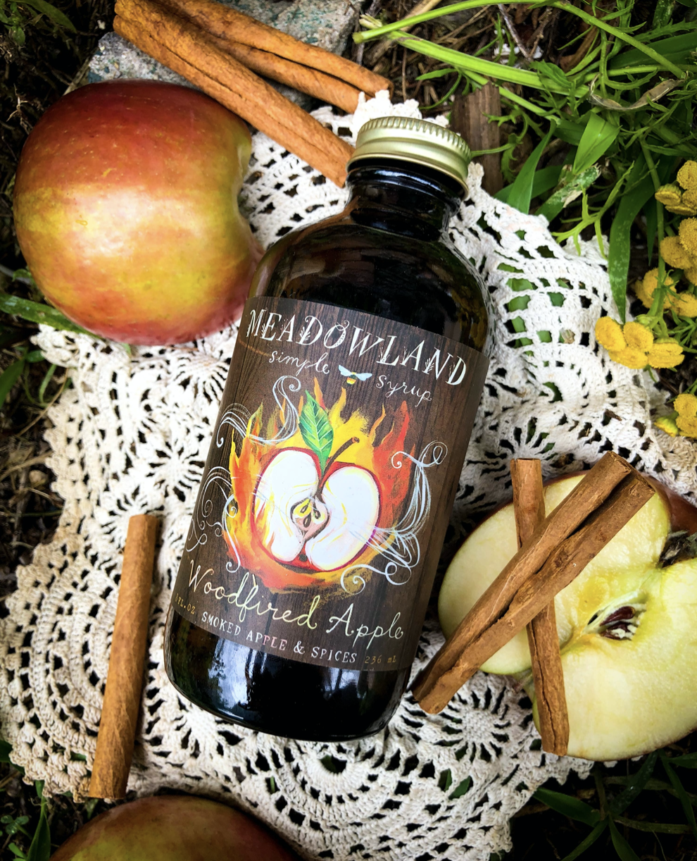 Woodfired Apple, Meadowland Simple Syrup