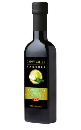 D'Anjou Pear Infused White Balsamic Vinegar