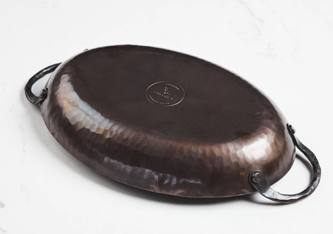Smithey Carbon Steel Oval Roaster