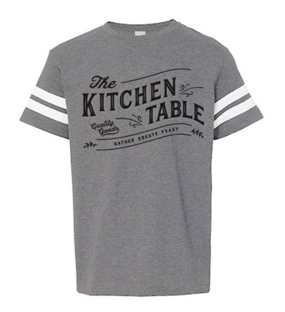 The Kitchen Table Logo Tee, Youth