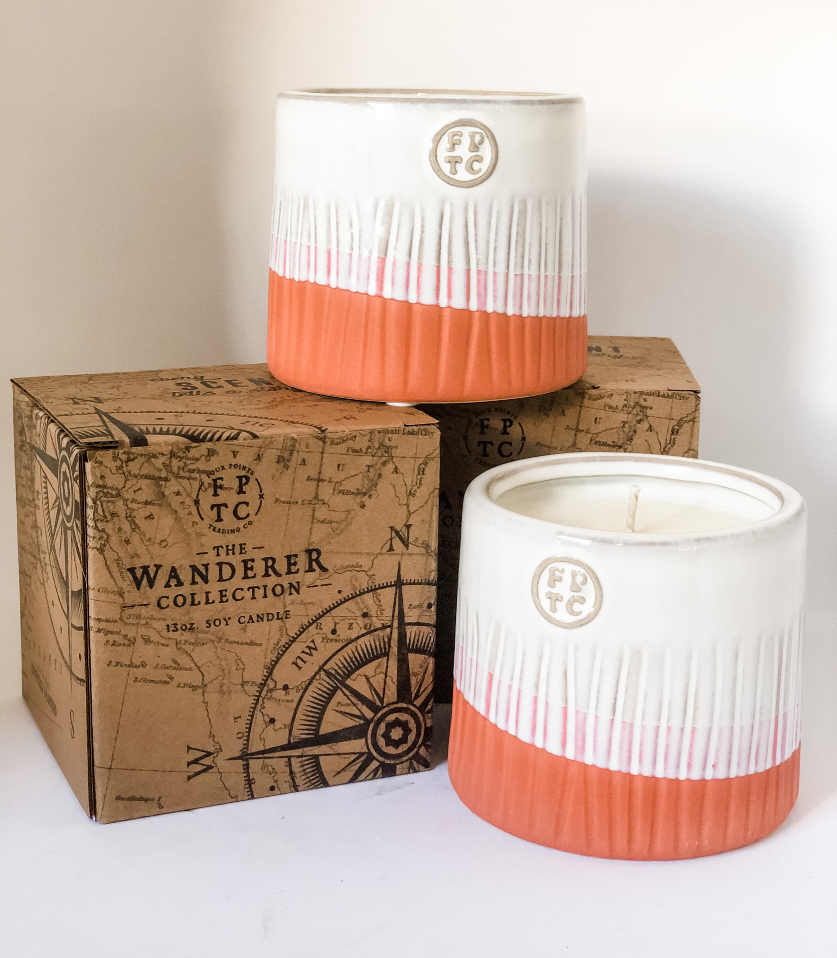 Wanderer Collection 13oz Ceramic Soy Candle